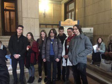 """Седем ученици от АЕГ """"Гео Милев"""" се завърнаха от среща в Италия по международен проект"""