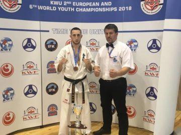 """Стилиян Петков от СК """"Ипон"""" - Русе завърши с бронзов медал европейското във Варна"""