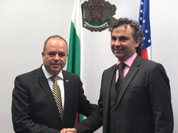 Генерален консул Иван Анчев се срещна с Росен Даскалов
