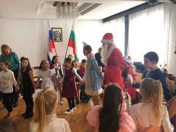 Новогодишно празнество се състоя в Генералното консулство на Русия в Русе