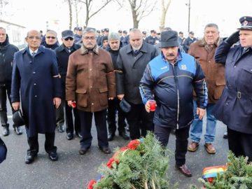 Героите от румънската революция през 1989 година бяха почетени в Гюргево