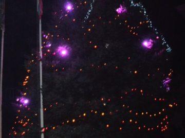На 3-ти декември в град Две могили бе дадено началото на най-светлите зимни празници