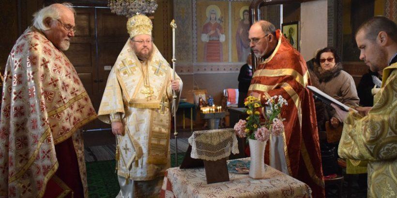 Русенският митрополит Наум посети Сандрово днес