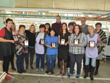 БТБ България награди своите дългогодишни лоялни служители в Русе