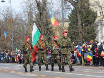Български воини участваха в парада по повод националния празник на Румъния в Букурещ