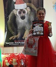 Полина Георгиева с Grand Prix и първо място от международен конкурс в Румъния