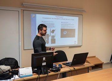 Ученици от Младежкия парламент се запознаха с технологиите на бъдещето в Русенския университет