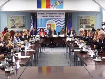 Данъчно облекчение за юридически лица на територията на Гюргево, издигнали румънското знаме през цялата година в своите обекти