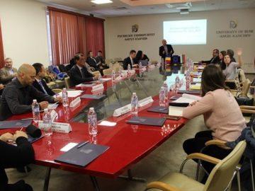 В Русенския университет обсъждаха бъдещата програма за трансгранично сътрудничество между България и Румъния
