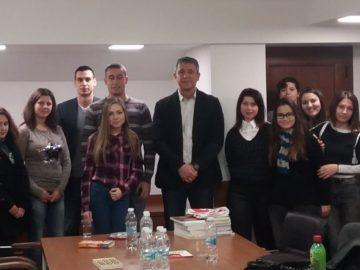"""Студенти от специалност """"Право"""" гостуваха на окръжния прокурор на Русе"""