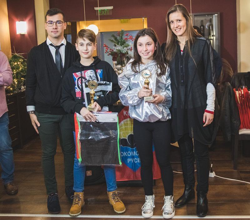 КПС Локомотив Русе награди на годишното си тържество ПЛУВЕЦ и ПЛУВКИНЯ на 2018