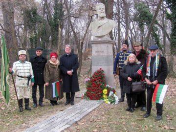 Русенско участие в честванията на 171 години от рождението на поета – революционер Христо Ботев в Букурещ