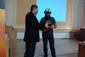 С плакет на Фонд Математика на бъдещето беше удостоен днес пътешественикът Петър Ванев