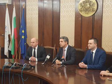 Президентът Росен Плевнелиев /2012 - 2017 г./ гостува в Русе сега