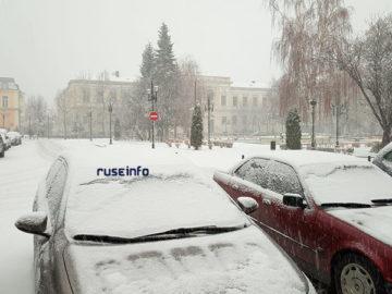 русе сняг снеговалеж 2019