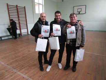 Ценовски тенис турнир завърши с награди от кмета Петър Петров