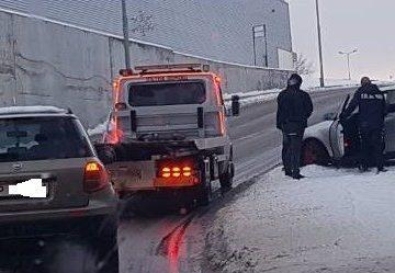 """Катастрофа затрудни движението в пробива """"Кауфланд"""" вчера"""