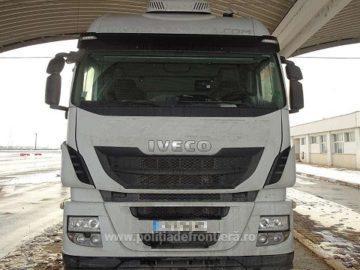 Обявен за издирване в Испания камион е задържан на Дунав мост 1