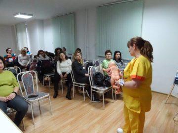 На 15 януари се проведе първата лекция на Училище за родители за 2019 г. в АГ - комплекса