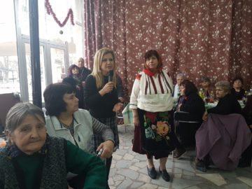 Народният представител Светлана Ангелова поздрави възрастните дами в Мартен по повод Деня на родилната помощ /Бабинден/