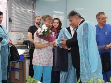 """Денят на родилната помощ бе честван в УМБАЛ """"Канев"""""""