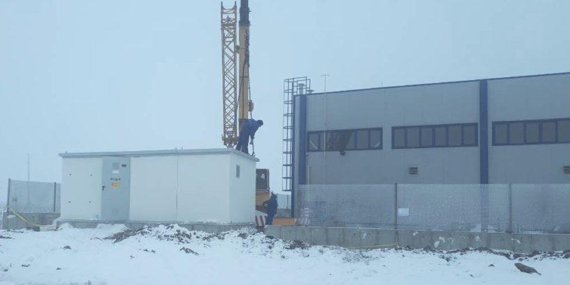 Нова възлова станция гарантира по-надеждно електрозахранване за няколко населени места в Русенско