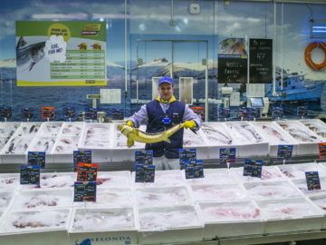 метро риба рибни продукти щанд 2