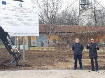 """Народният представител Пламен Нунев присъства на първата копка по рехабилитация на пътя кв. """"Гара Бяла"""" – Босилковци - Павел"""