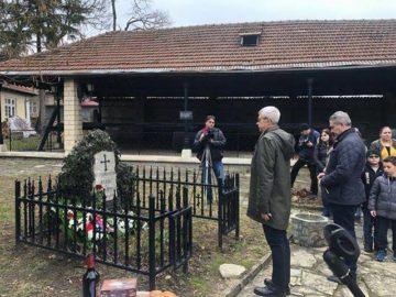 Проведе се възпоменателна церемония по повод 141 години от смъртта на руската баронеса Юлия Вревская