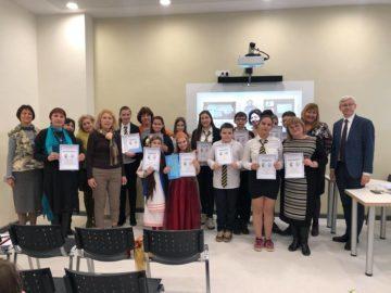 СУЕЕ се включи в X национален конкурс за рецитатори, посветен на И. Крилов и А. Пушкин