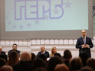Цветан Цветанов в Русе: Когато ГЕРБ управлява – Европа ни чува