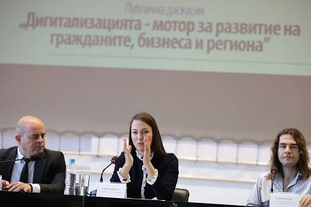 Евродепутатът Ева Майдел (ГЕРБ/ЕНП): В Русе работят отлично с бизнеса за развитие на образованието и технологиите