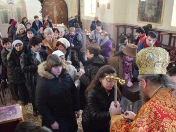 Русенският митрополит Наум посети град Борово