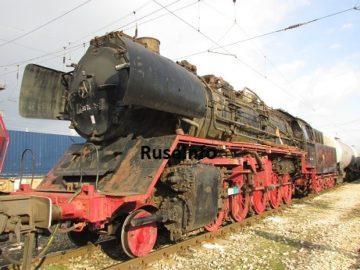 Русенци видяха върху релси парния локомотив серия 50 на път за София