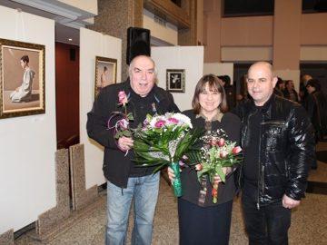 Изложба на Николай Караджов бе открита днес
