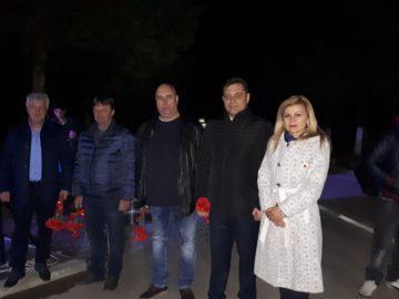 Народните представители Светлана Ангелова и Андриан Райков почетоха националния празник Трети март в Брестовица