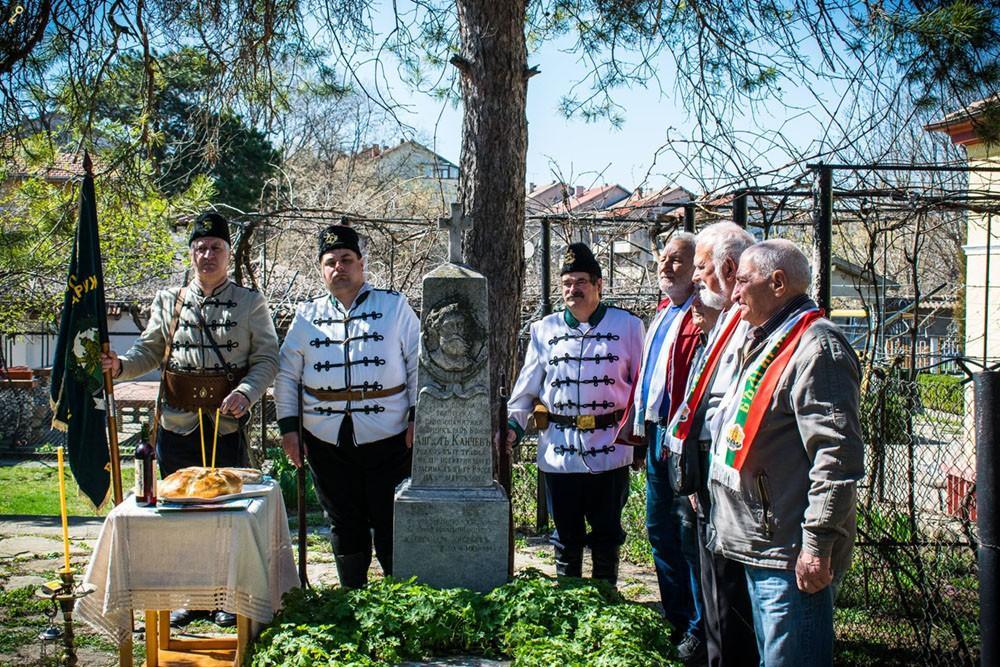 Панихида по случай 147 години от смъртта на революционера Ангел Кънчев бе отслужена днес 1