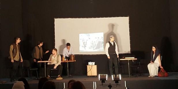 """Авторска пиеса на АГ """"Гео Милев"""" на английски език отново с награди от национален фестивал"""