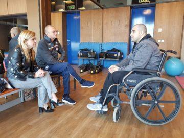 Народните представители от ГЕРБ с ангажимент за подкрепа на спорта за хората с увреждания в Русе