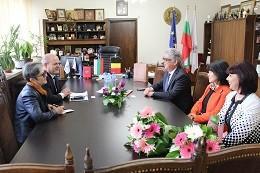 Посланикът на Белгия посети кмета на Община Русе