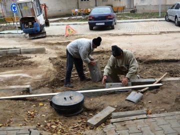 Продължават ремонтите в община Гюргево