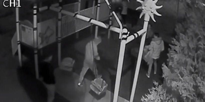 Общинската полиция в Гюргево разкри шестима младежи, потрошили детска площадка в парк