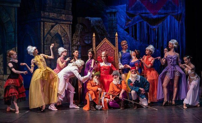 """Русенската публика се наслади на великолепния балет """"Снежанка и седемте джуджета"""""""