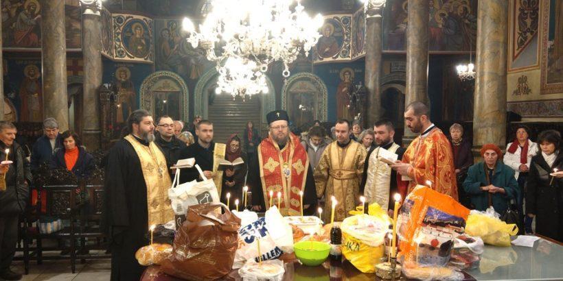 """Заупокойна литургия бе отслужена на Задушница в храма """"Света Троица"""""""