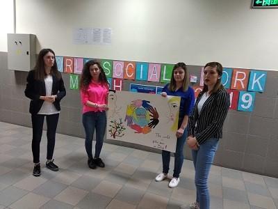 Клубът на социалния работник в Русенския университет отбеляза Световния ден на социалната работа