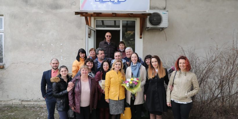 Евродепутатът Ева Майдел посети община Две могили