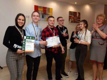 Сребърен медал за ПГ по туризъм Русе от националното състезание по хотелиерство и туристическа анимация