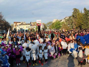 мажоретен фестивал Русе - Ритъм Марш