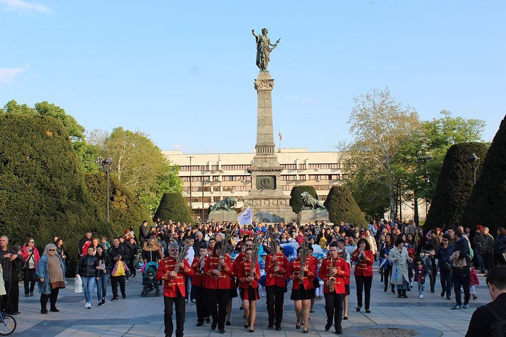 мажоретен фестивал Русе - Ритъм Марш2