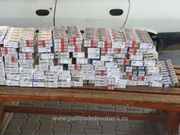 940 кутии контрабандин цигари откриха в автомобил на българин на Дунав мост 1